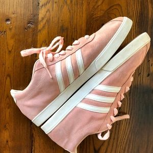 Adidas Courtset Pink Suede  Sneakers